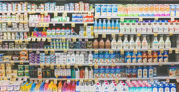 Dairy Sales Drop as Milk Alternatives Trend