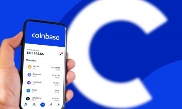 Coinbase prices hit low together with other cryptocurrencies