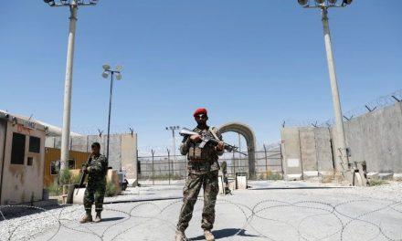 US Troops Bid Bagram Goodbye