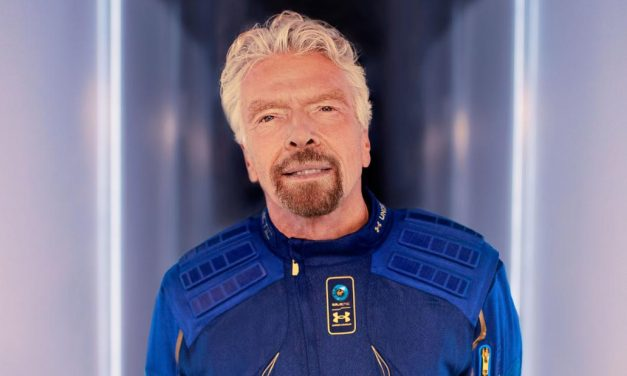 The Flying Mogul: Richard Branson Set to Soar to Space
