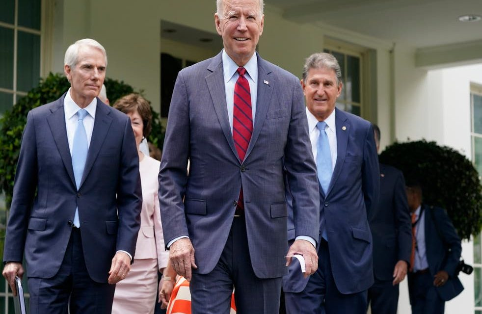 Infrastructure Deal Moves Forward As Biden Assures Bipartisanship With Republicans
