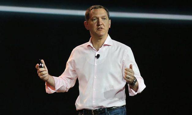 IBM Shares Down as Whitehurst Steps Down