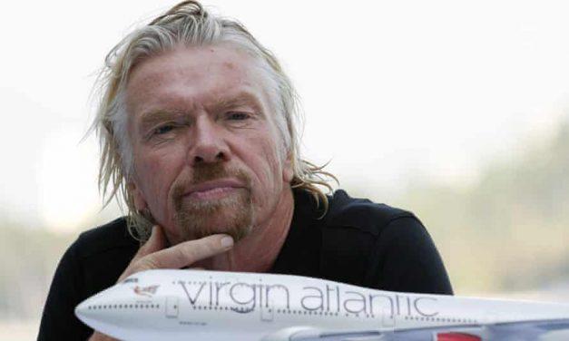 Branson Mulls Opening Virgin Atlantic to Private Investors