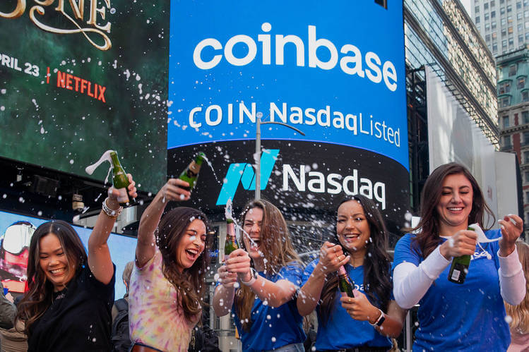 Coinbase Continues to Rally After Posting Record Q2 Earnings