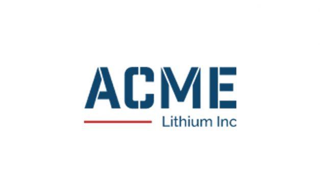 ACME Lithium Sampling Program Provides New Lithium Values at Fish Lake Valley, Nevada